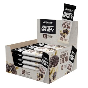 DISPLAY BEST WHEY CHOCOLATE CX 12 COOKIES CREAM