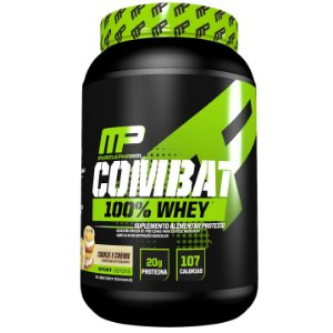 COMBAT 100% WHEY 907GR COOKIE E CREME