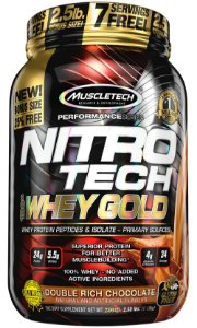 NITRO TECH 100% WHEY GOLD 2.5LBS DUPLO CHOCOLATE