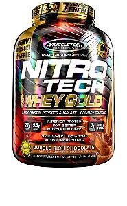NITRO TECH 100% WHEY GOLD 5.53LBS DUPLO CHOCOLATE