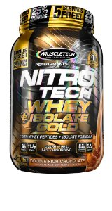 NITRO TECH WHEY ISOLATE GOLD 2LBS DUPLO CHOCOLATE