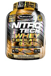 NITRO TECH WHEY ISOLATE GOLD 4LBS BAUNILHA
