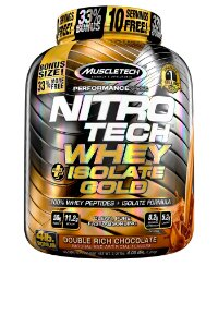 NITRO TECH WHEY ISOLATE GOLD 4LBS DUPLO CHOCOLATE