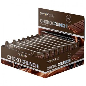 DISPLAY CHOKO CRUNCH 12UN-40G CHOCOLATE PROTEICO