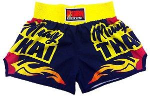 Short Muay Thai Amarelo