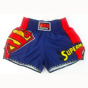 Short Muay Thai Superman