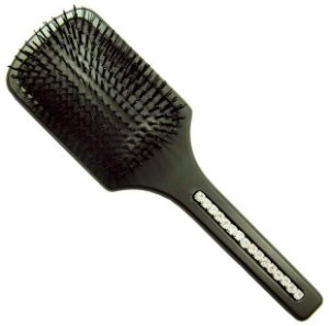 Escova Raquete com Cristal Tcheco