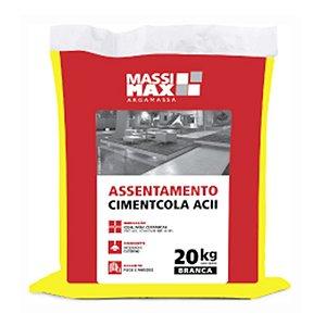 Argamassa Cimentcola Interno e Externo Massimax Tipo ACII