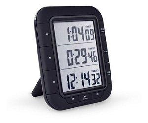 Cronômetro Digital Progressivo / Regressivo 3 Tempos T-TIM-002000