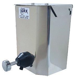 Dispenser Saboneteira Sabonete E Álcool Gel Inox 500ml Grx
