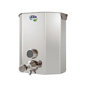 Dispenser Saboneteira com Visor Sabão Líquido Inox 1L GRX