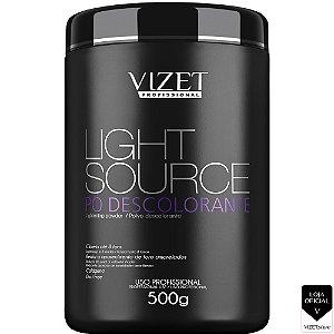 Pó descolorante Light Source 500gr Vizet Profissional