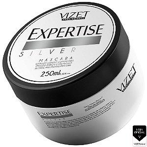Máscara Capilar 250gr Expertise Silver Vizet Profissional