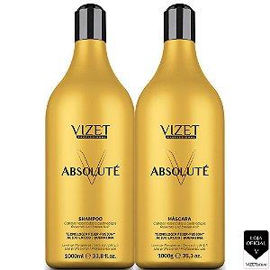 Tratamento Absoluté Shampoo e Máscara 1000 Vizet Profissional
