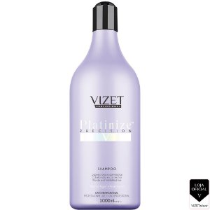 Shampoo Platinize 1000ml Vizet Profissional