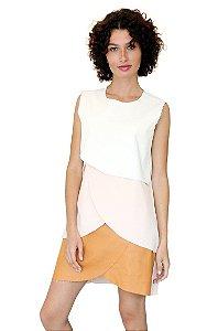 Vestido The Box Project  Rosey Rosa