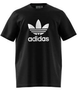 Camiseta Trefoil  Black Adidas
