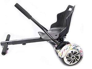 Carrinho Para Hoverboard - Hover Kart - Chassis Reforçado - DSR