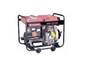 Gerador de Energia a Diesel 6 Kva Bivolt Partida Elétrica