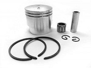 Kit Pistão + Anéis Completo 44mm para Mini Motos/Quadriciclos 49cc