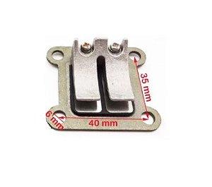 Palheta de Admissão do Carburador para Mini Motos/Quadriciclos 49cc