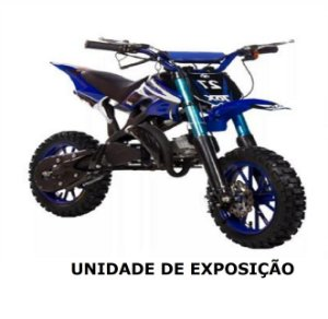 Mini Moto Cross 49cc - MODELO DE EXPOSIÇÃO