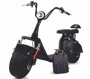 Patinete Scooter Moto Elétrico Bateria Removível 1500w