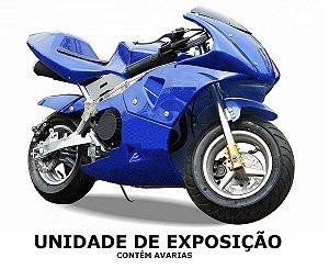 SUPER MINI MOTO GP NINJA 49cc - MODELO DE EXPOSIÇÃO
