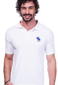 Camisa Polo Abercrombie Branca | Oferta