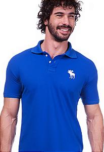 Camisa Polo Abercrombie Azul | Oferta