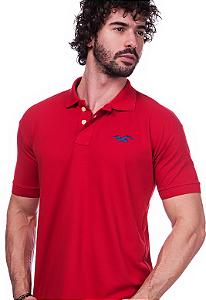 Camisa Gola Polo Hollister Vermelha