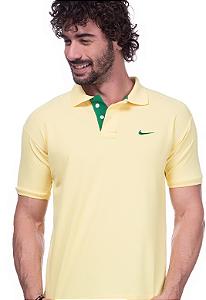 Camisa Polo Nike Amarela | Oferta