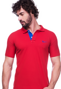 Camisa Polo Nike Vermelha | Oferta