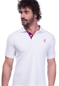 Camisa Gola Polo Sergio K Branca