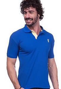 Camisa Polo Sergio K Azul | Oferta