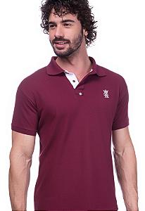 Camisa Polo Sergio K Vinho | Oferta