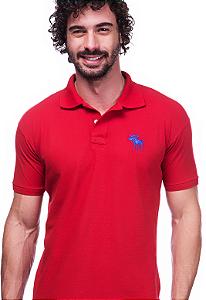 Camisa Gola Polo Abercrombie Vermelha