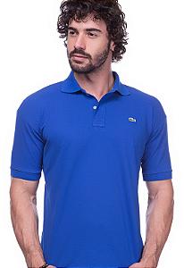 Camisa Gola Polo Lacoste Azul