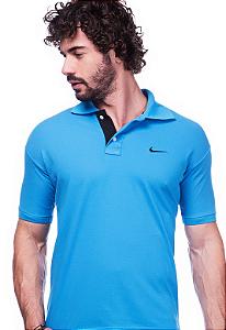 Camisa Polo Nike Azul | Oferta