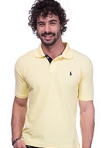 Camisa Gola Polo Ralph Lauren Executivo Amarela