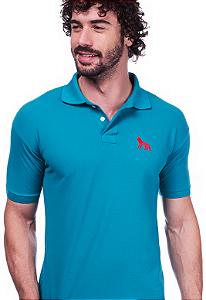 Camisa Gola Polo Acostamento Verde