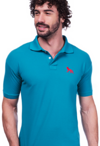 Camisa Polo Acostamento Verde | Oferta