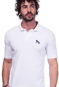Camisa Gola Polo Acostamento Branca