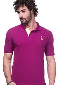 Camisa Gola Polo Reserva Vinho