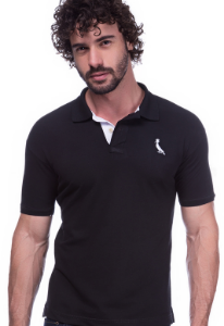 Camisa Gola Polo Reserva Preta