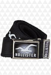 Cinto de Pano Preto da Hollister