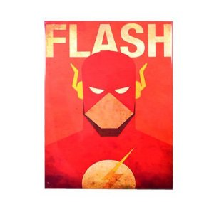 PLACA DECORATIVA FLASH - METAL