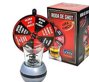 JOGO ROSA DE SHOT - VIRA VIRA