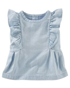 Blusa Jeans Baby Carters´s    12 meses