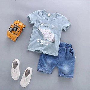 Conjunto Infantil Elephant Azul